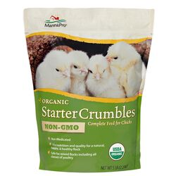 Manna Pro Organic Starter Crumbles