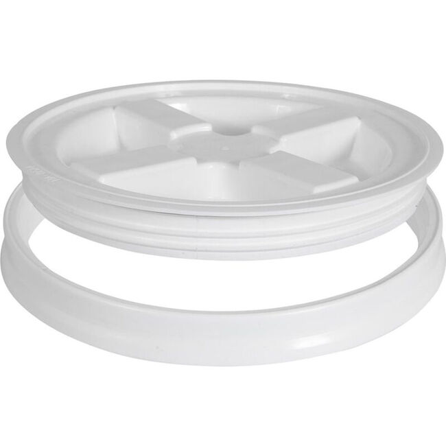 Vittles Vault Gamma Seal Lid 5.0-White image number null