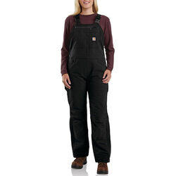 Carhartt Women's Super Dux Relaxed Fit Sherpa-Lined Bib Overall