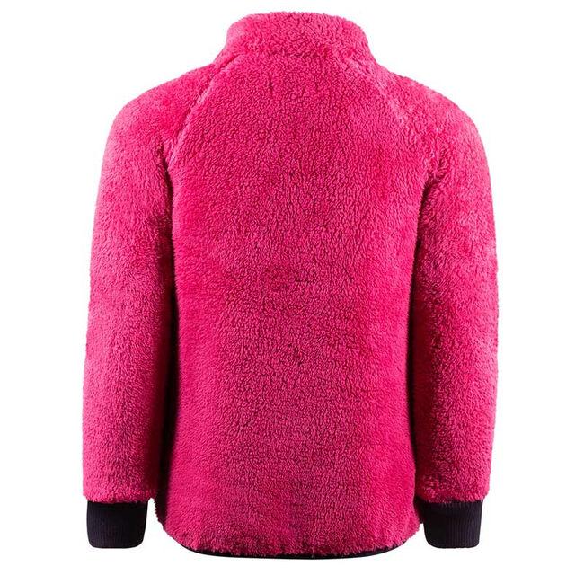 Horze Kid's Landry Fleece Jacket-Fuchsia-XL image number null