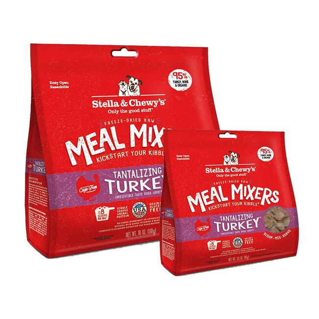 Stella & Chewy's Tantalizing Turkey Freeze-Dried Meal Mixer for Dogs image number null