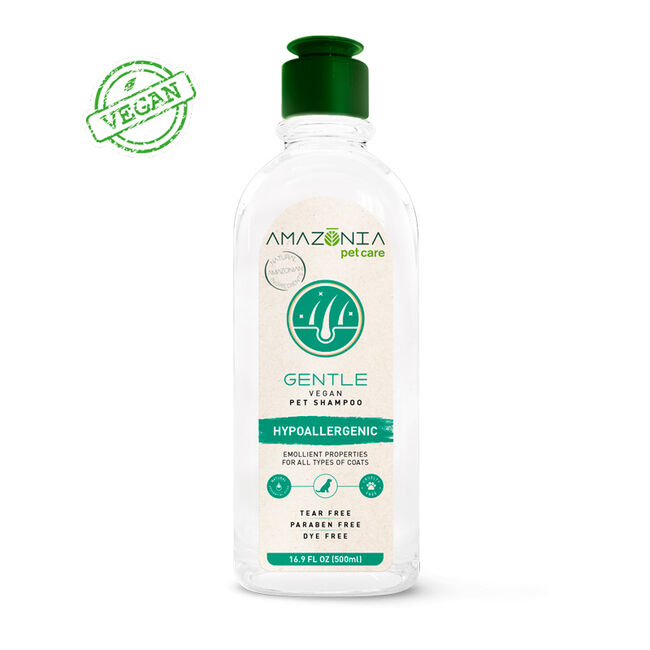 Amazonia Pet Care Vegan Gentle Shampoo for Dogs image number null