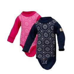 Janus Baby Wool Snowflake Bodysuit