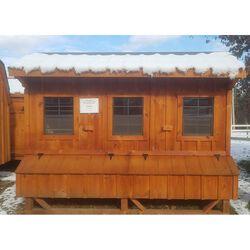 Amish 6x10 Coop