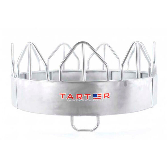 Tarter Galvanized Equine Pro Feeder With Hay Saver image number null
