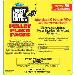 Just One Bite II Pellet Place Packs