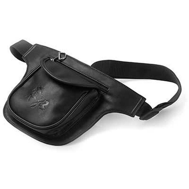 Kelley Equestrian 2-Pocket Waist Pack - Black image number null