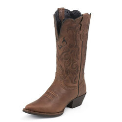 Justin Boots Women's Mustang Cowhide Stampede Western Boots