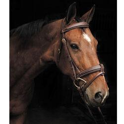 Smith-Worthington Wide Nose Fancy Hunter Bridle