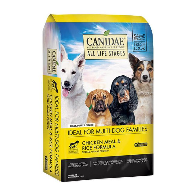 Canidae All Life Stages Chicken & Rice Premium Dry Dog Food image number null