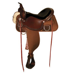 High Horse Magnolia Cordura Trail Saddle