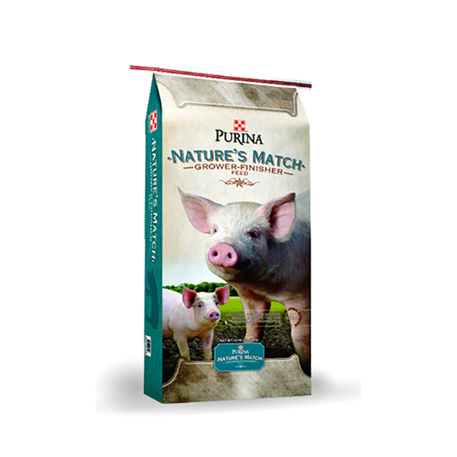 Purina Mills Nature's Match Swine Grower-Finisher image number null