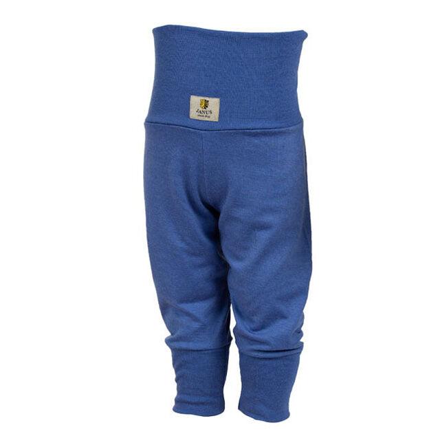 Janus Baby Wool Blend Solid Color Pants - Blue image number null