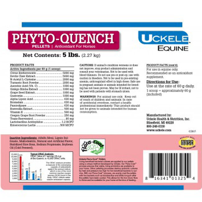 Uckele Phyto-Quench Pellets image number null