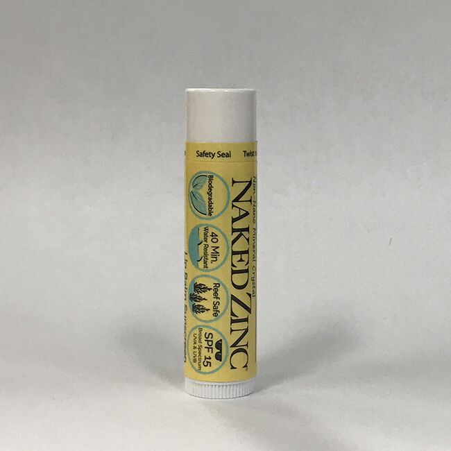 Naked Bee Orange Blossom Honey Lip Balm with SPF 15 image number null