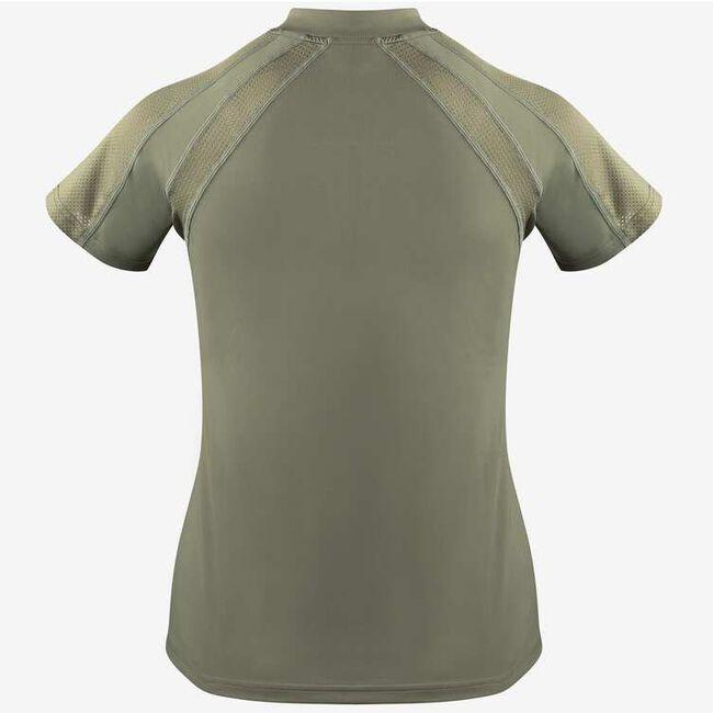 Horze Aliza Women's Training Shirt-Ashen Clay-10 - Closeout image number null