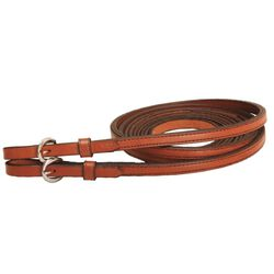 Tory Leather Partial Double Stitched Split Reins