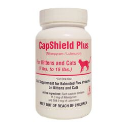 CapShield Plus Oral Flea Protection for Kittens and Cats