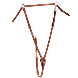 Tory Leather Flat Hunt Breastplate