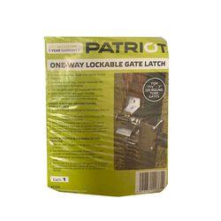 Patriot 1 Way Gate Latch