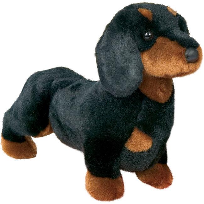 Douglas Spats Black & Tan Dachshund Plush Toy image number null