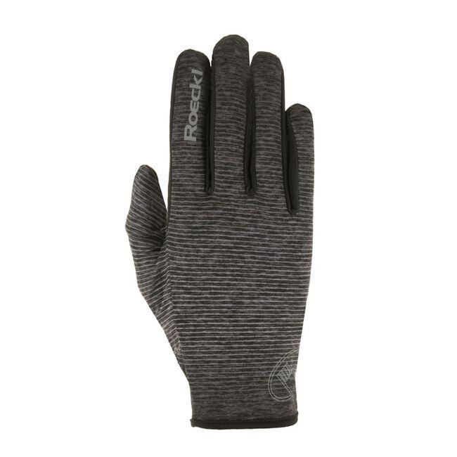 Roeckl Unisex Wayne Winter Riding Glove - Anthracite Melange image number null