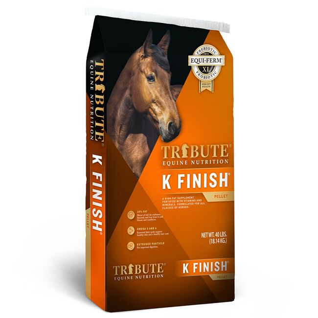 Tribute K Finish Horse Feed Supplement image number null