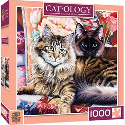 "Cat-ology 1000 Piece Puzzle - ""Raja & Mulan"""