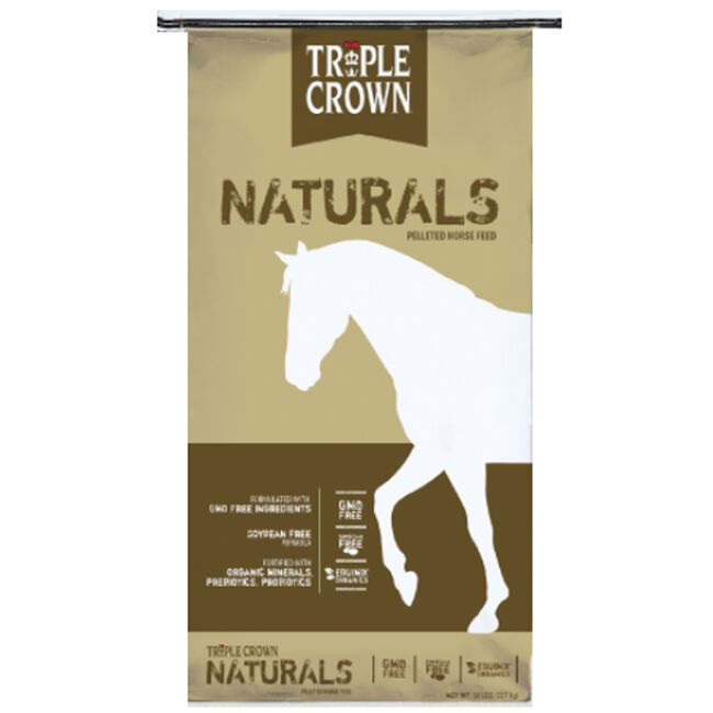 Triple Crown Naturals Pelleted Horse Feed image number null