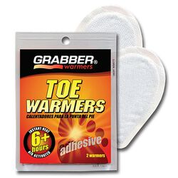 Grabber Warmers - 6 Hour Adhesive Toe Warmer Pads 2 Pack