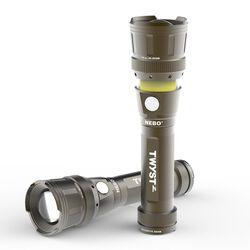 Nebo TWYST Z Work Light, Lantern & Flashlight Gray