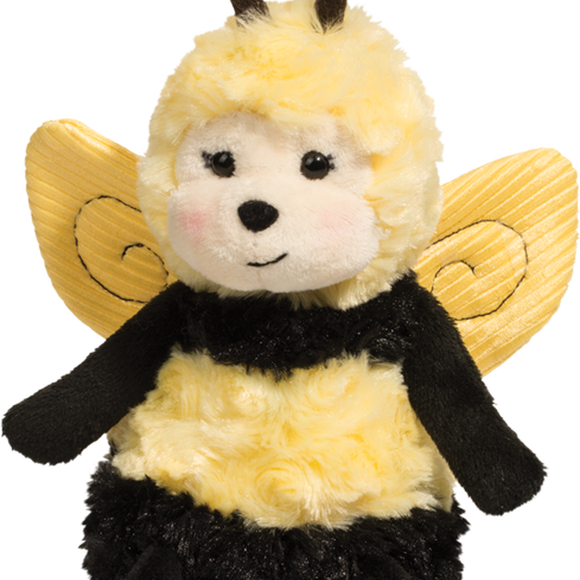 Douglas Poppy Puff Bee Plush Toy image number null