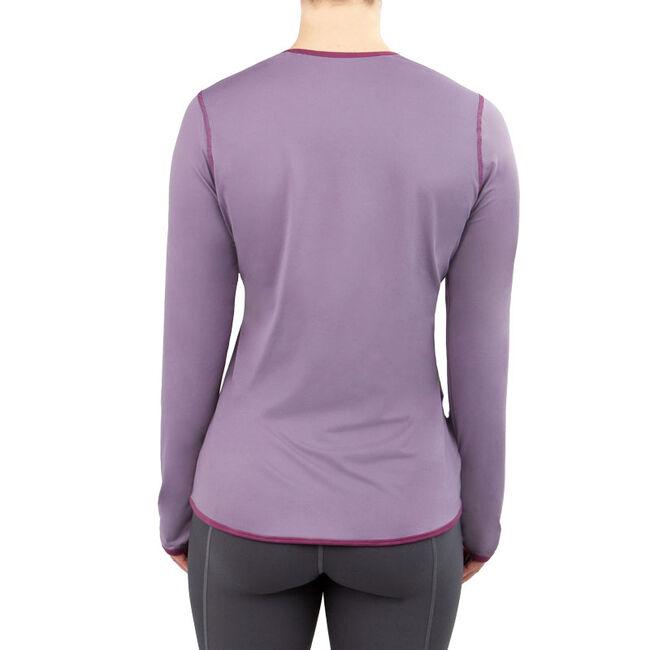 Irideon Women's Air-Tech Baselayer Crewneck Shirt - Opal image number null