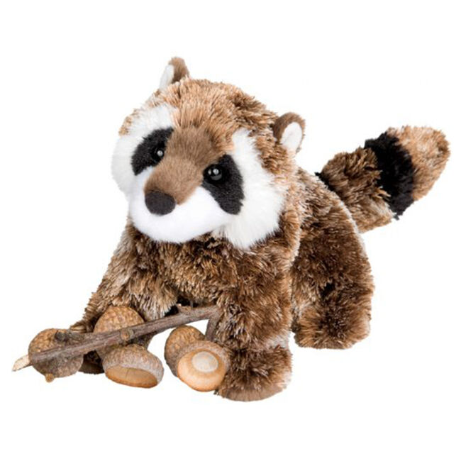 Douglas Patch Raccoon Plush Toy image number null