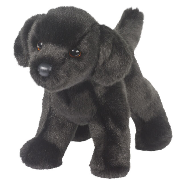 Douglas Bear Black Lab Plush Toy image number null