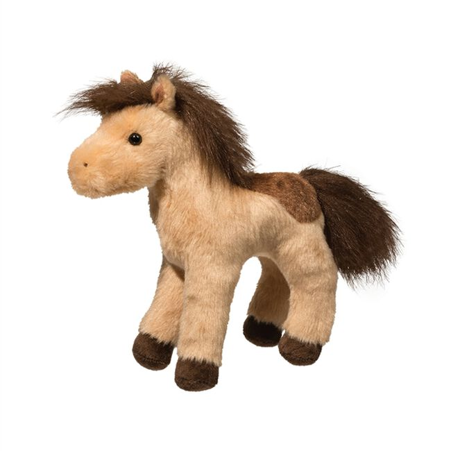 Douglas Toffee Spotted Horse Plush Toy image number null
