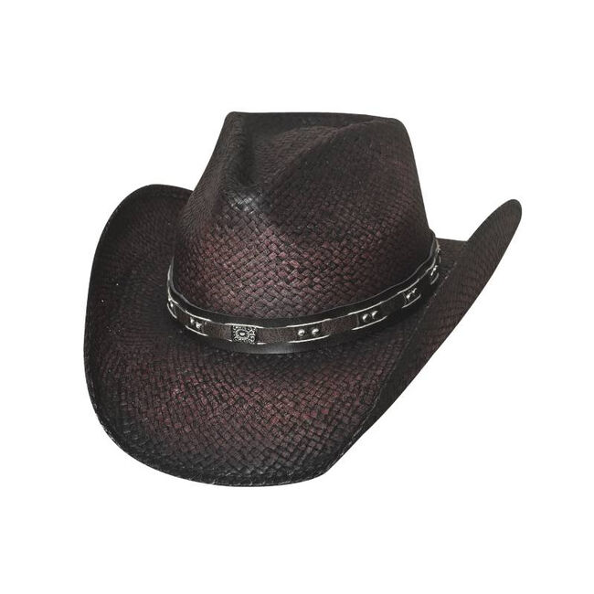 Bullhide Burnin' Down Western Hat image number null