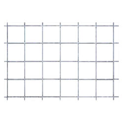 Tarter 4' x 16' Silver Steel Containment Fence Panel