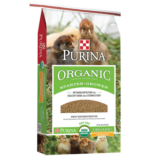 Purina Organic Poultry Starter - Grower image number null