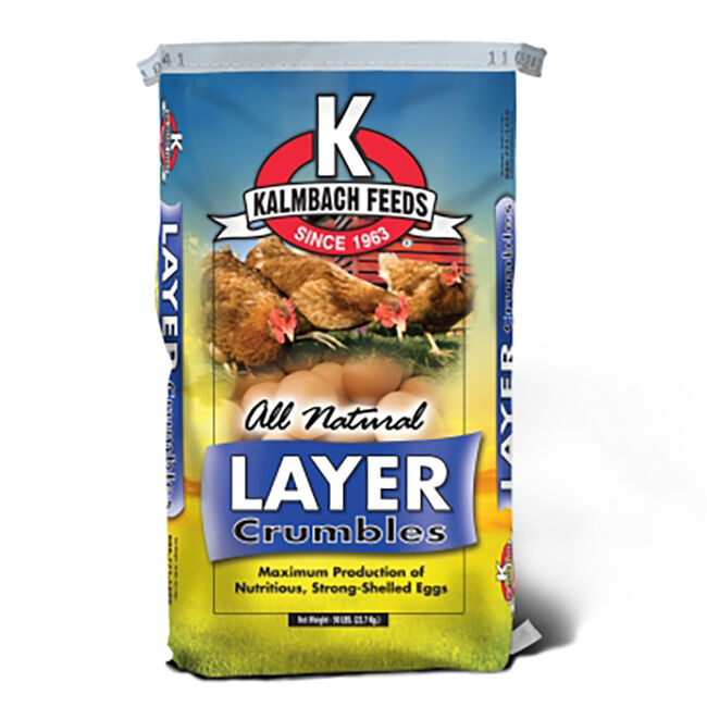 Kalmbach 17% Non-GMO Layer Crumbles  image number null