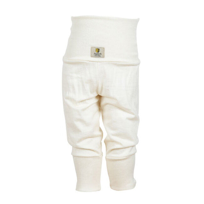 Janus Baby Wool Blend Solid Color Pants - Natural image number null