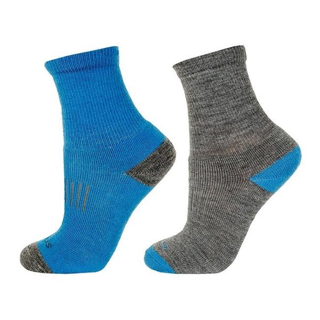 Janus Kids' Terry Wool Socks - 2 Pair - Blue image number null
