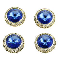 Finishing Touch of Kentucky Sapphire Stone Magnetic Tack Pins