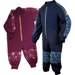 Janus Baby/Toddler Playsuit  Wool Blend