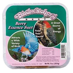 Birdwatchers Best Berry Essence Suet Cake