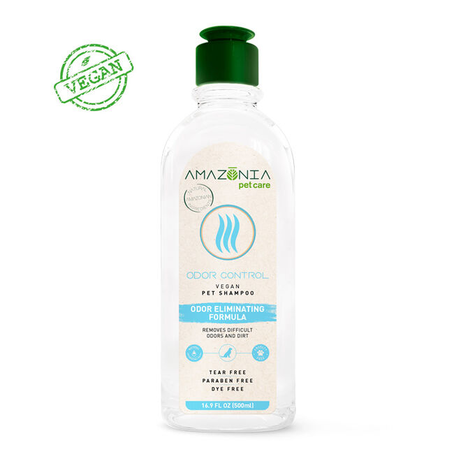 Amazonia Pet Care Vegan Odor Control Shampoo for Dogs image number null