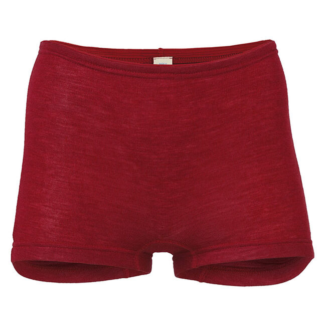 Engel Women's Wool/Silk Shorts - Red image number null