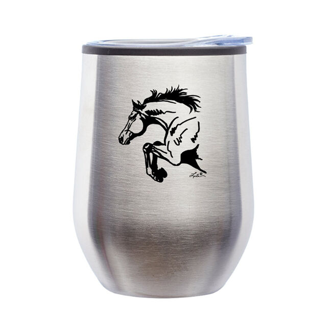 Awst Silver Horse Wine Tumbler  image number null