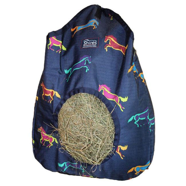 Shires Printed Hay Bag - Horse Print image number null
