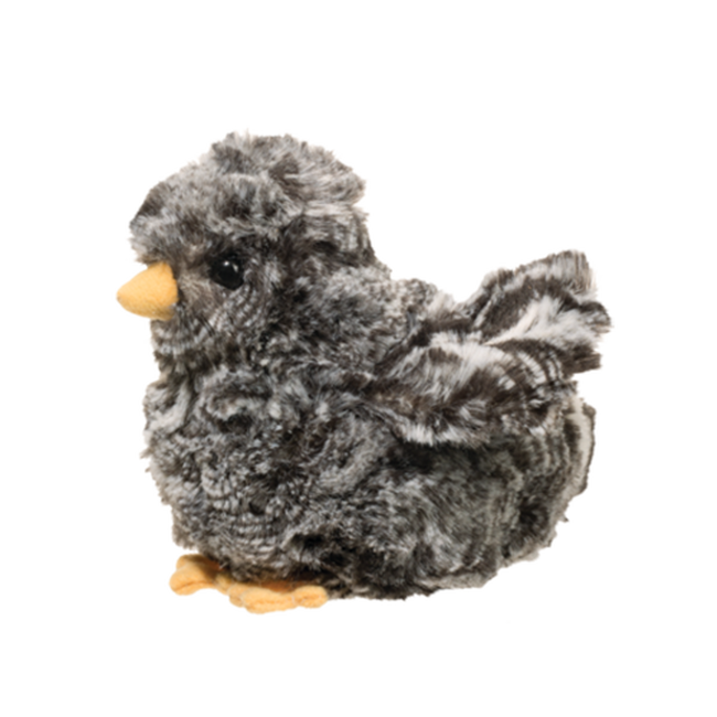 Black Multi Chick Plush Toy image number null